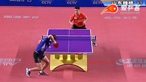 薛飞VS赖佳新 2016中国乒超联赛 男团第五轮第一场视频