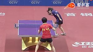 丁宁VS平野美宇 2016中国乒超联赛 女团第五轮第二场视频