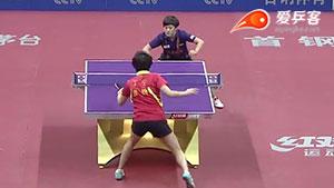 丁宁VS李佳燚 2016中国乒超联赛 女团第五轮第四场视频