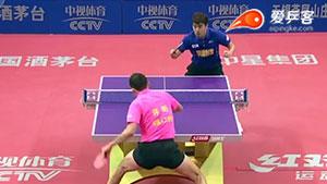 许昕VS闫安 2016中国乒超联赛 男团第六轮第一场视频