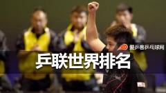 乒联排名:奥恰洛夫陈梦居首,马龙第7张继科54