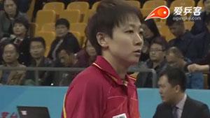 木子VS丁宁 2016中国乒超联赛 女团第六轮第四场视频