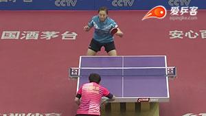 冯亚兰VS文佳 2016中国乒超联赛 女团第六轮第一场视频