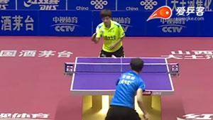 车晓曦VS王曼昱 2016中国乒超联赛 女团第六轮第四场视频