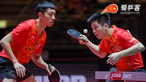 瞬间秒杀单打,这两个男人颠覆你对乒乓球的审美!