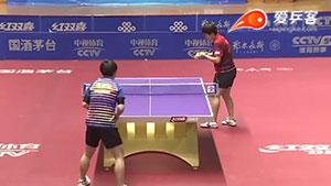 李佳燚VS冯亚兰 2016中国乒超联赛 女团第七轮第二场视频