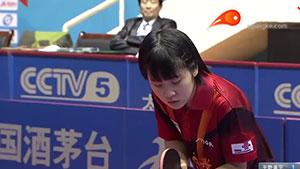 平野美宇VS冯亚兰 2016中国乒超联赛 女团第七轮第四场视频