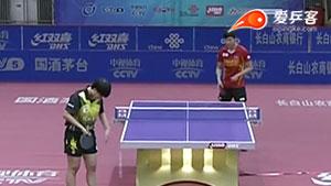 王艺迪VS王曼昱 2016中国乒超联赛 女团第七轮第一场视频
