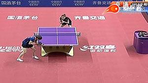 武杨VS周一涵 2016中国乒超联赛 女团第七轮第二场视频