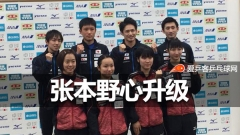 张本智和野心升级:世界杯夺冠!还要拿下国乒一号