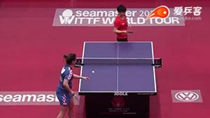 孙颖莎VS 佩尔吉尔 匈牙利公开赛 女单资格赛视频