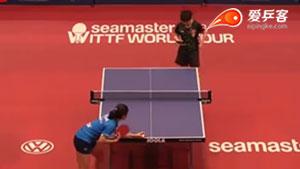 孙颖莎VS贾米拉 2016中国乒超联赛 女单第二轮赛视频