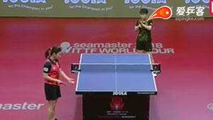 孙颖莎VS李皓晴 2018匈牙利公开赛 女单1/4决赛视频