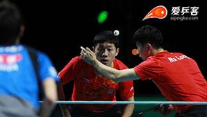 马龙许昕合作天衣无缝,痛击日本夺中国男乒2018第一冠!