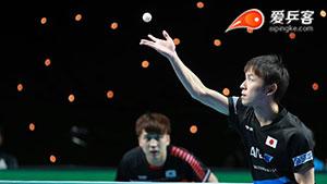 郑荣植VS丹羽孝希 2018团体世界杯赛 男团半决赛第三场视频