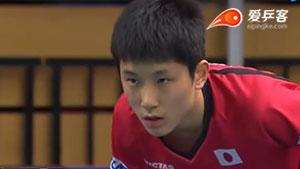 张本智和VS林绍恒 2018团体世界杯赛 男团1/4决赛第五场视频