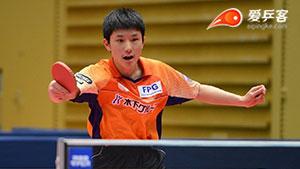 张本智和VS森园政崇 2018全日本乒球锦标赛 男单半决赛视频