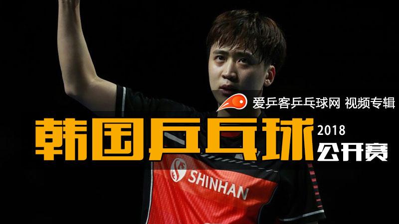2018年韩国乒乓球公开赛