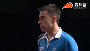 雨果·卡尔德拉诺VS林高远 2018卡塔尔乒乓球公开赛 男单半决赛视频