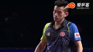 林高远VS黄镇廷 2018卡塔尔乒乓球公开赛 男单1/4决赛视频