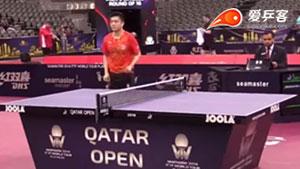 樊振东VS水谷隼 2018卡塔尔乒乓球公开赛 男单1/8决赛视频