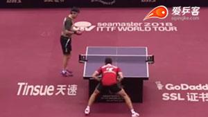 雨果·卡尔德拉诺VS波尔 2018卡塔尔乒乓球公开赛 1/8决赛视频