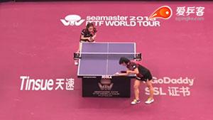 石川佳纯VS长崎美柚 卡塔尔乒乓球公开赛 女单1/8决赛视频