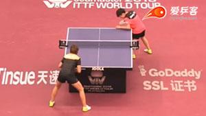 陈幸同VS张瑞 卡塔尔乒乓球公开赛 女单1/16决赛视频