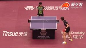 平野美宇VS陈可 卡塔尔乒乓球公开赛 女单1/16决赛视频