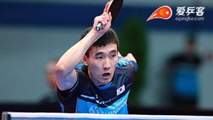 李尚洙VS丁祥恩 2018亚洲杯 男单季军赛视频