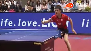 丁祥恩VS张本智和 亚洲杯 男单1/4决赛视频
