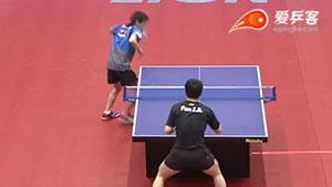 樊振东VS丹羽孝希 亚洲杯 男单1/4决赛视频