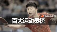 ESPN百大运动员:孙杨排名17,马龙第二次入围