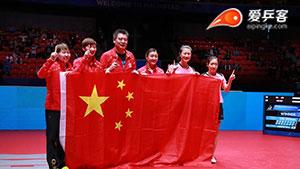 四连超凡旷古烁今!中国乒乓女队3-1逆转日本卫冕