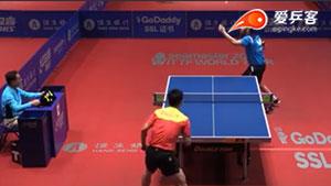 张继科VS斯托亚诺夫 香港公开赛 男单资格赛视频