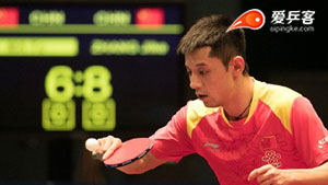 张继科VS马特 香港公开赛 男单资格赛视频