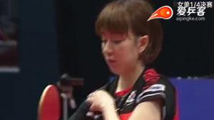 王曼昱VS徐孝元 香港公开赛 女单1/4决赛视频