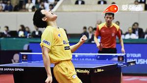 张本智和VS张继科 日本乒乓球公开赛 男单决赛视频