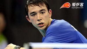 雨果·卡尔德拉诺VS杨恒韦 2014青奥会乒乓球赛 男单季军赛视频