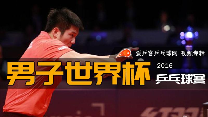 2016年男子乒乓球世界杯赛