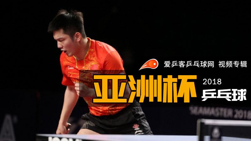2018年乒乓球亚洲杯