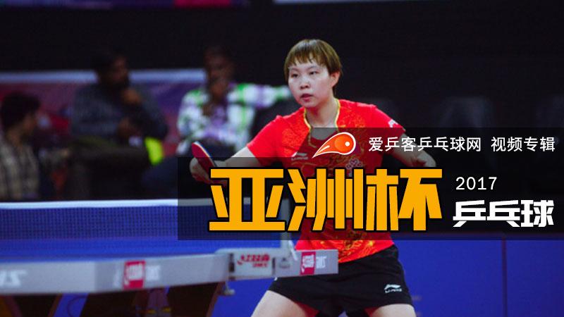 2017年乒乓球亚洲杯