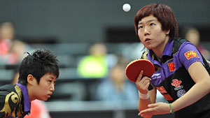 郭跃/李晓霞VS郭焱/丁宁 2011世乒赛 女双决赛视频
