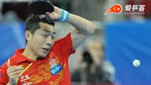 许昕VS庄智渊 2013团体世界杯赛 男团决赛第一场视频