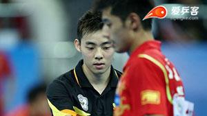 陈建安VS张继科 2013团体世界杯赛 男团决赛第二场视频