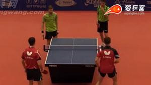 利文佐夫/派科夫VS拉卡托斯/斯祖迪 比利时公开赛 男双决赛视频