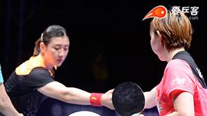 朱雨玲VS陈梦 韩国公开赛 女单决赛视频