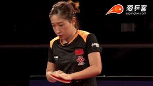 刘诗雯VS丁宁 澳大利亚公开赛 女单决赛三分6合视频