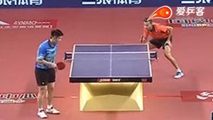 樊振东VS阿波罗尼亚 2016亚欧全明星对抗赛 第一天第三场视频