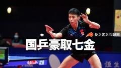 香港赛国乒少年豪取七金!14岁小将赛季已夺四冠